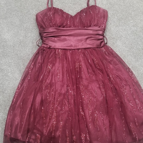 Deb Dresses & Skirts - Maroon dress